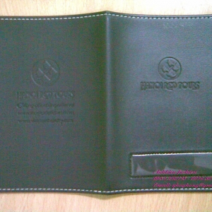 Vỏ hộ chiếu giả da kiểu ví